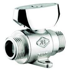 Valvula con limitador de caudal incorporado